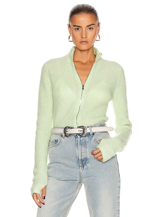 Soft Wool Knit in Patina Green