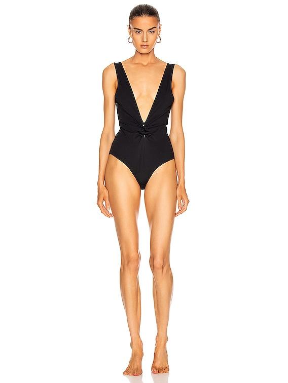 Recycled Swimwear in Black