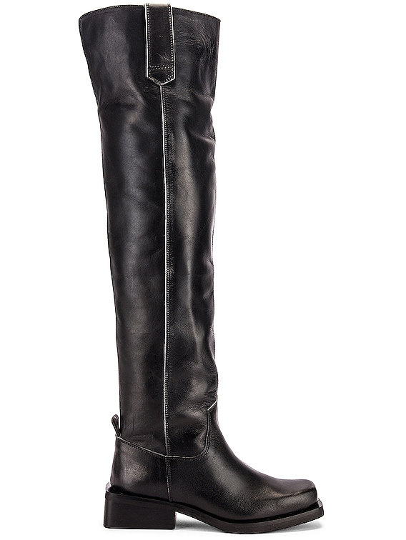 MC Knee High Boots in Black