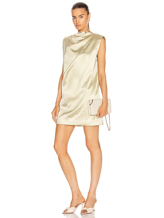 Cali Mini Dress in Gold Sand