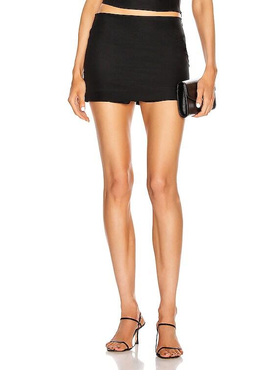 Nara Mini Skirt in Black