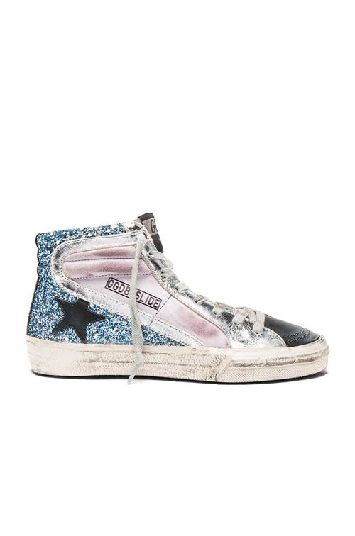 Golden Goose Suede Slide Sneakers in