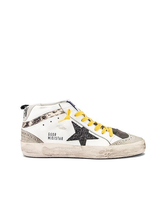Golden Goose Mid Star Sneaker in White