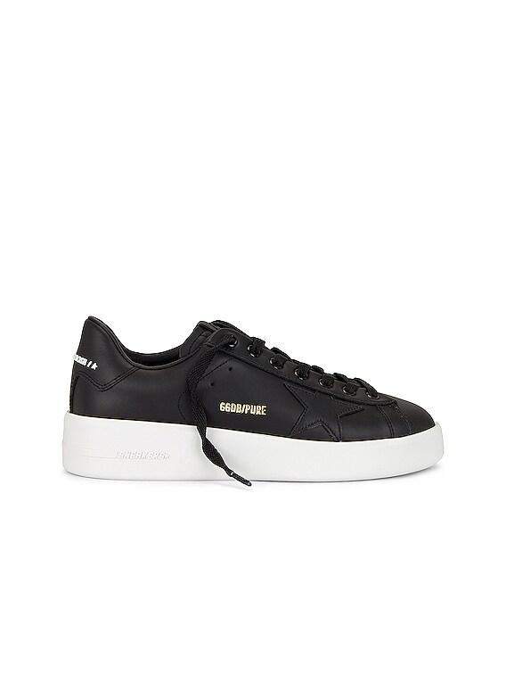 Pure Star Sneaker in Black