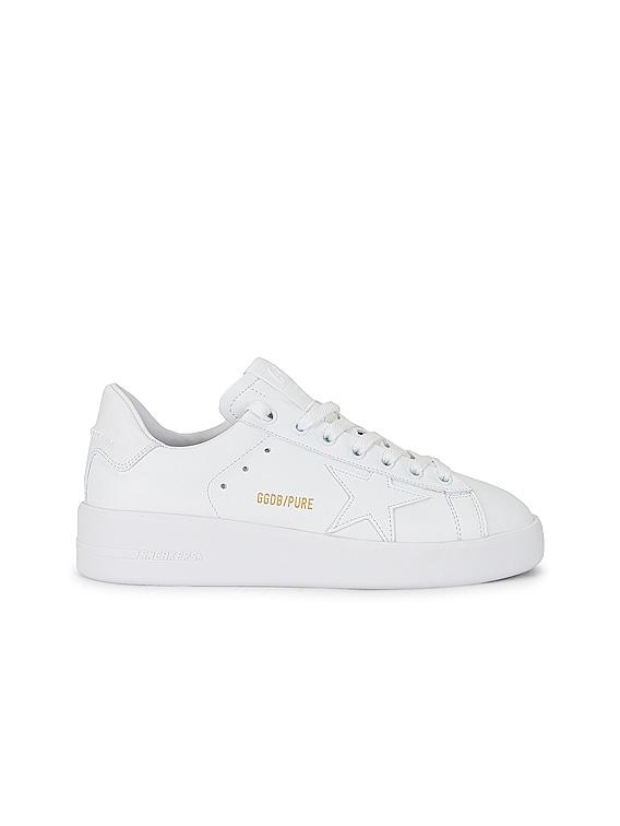 Pure Star Sneaker in Optic White