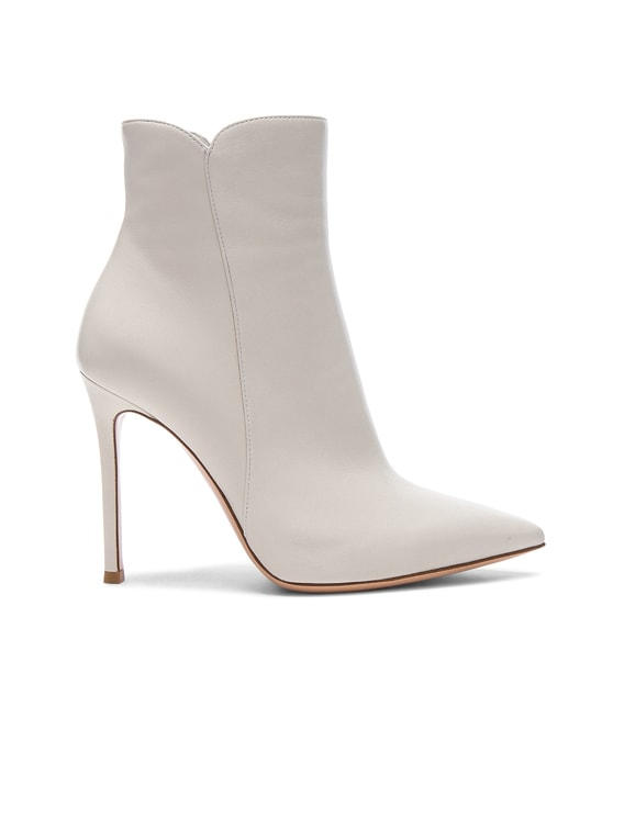 Gianvito Rossi Nappa Leather Levy Ankle