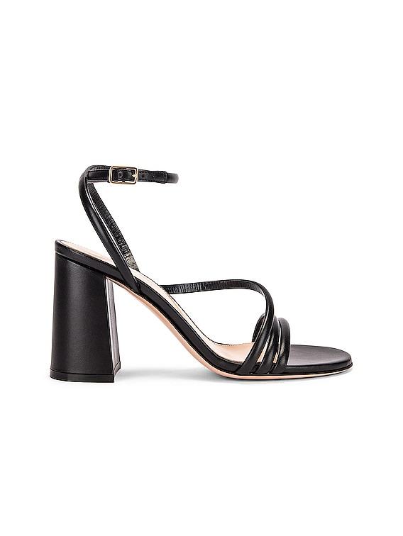 Ankle Strap Sandals in Black