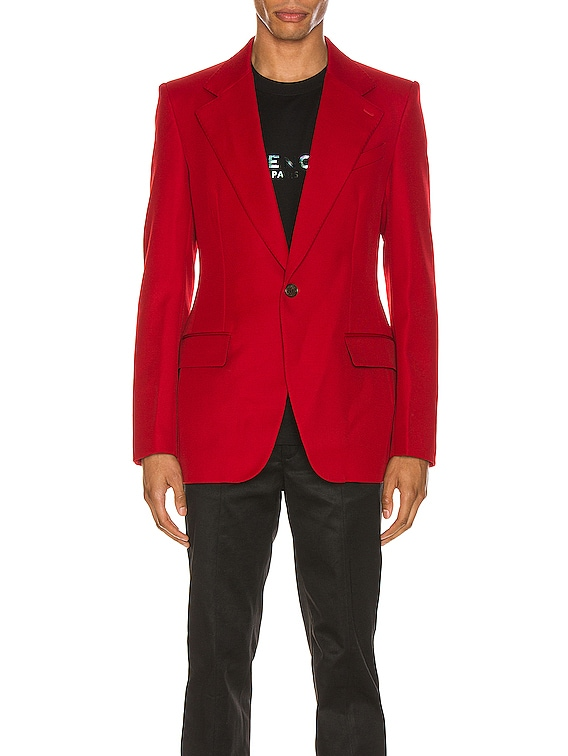 Structured Jacket in Red