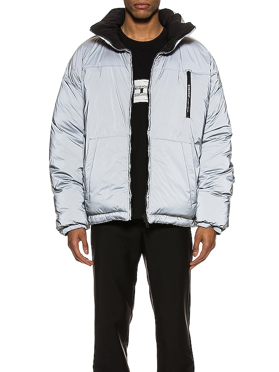 Puffer Jacket in Grey