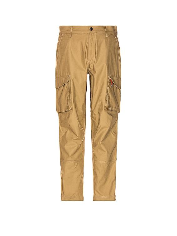 Cargo Trousers in Medium Beige