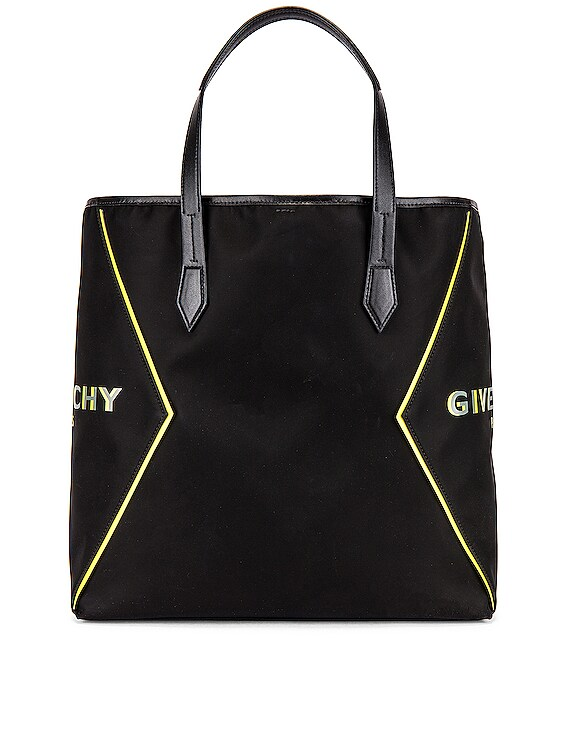 Tote Bag in Black & Yellow