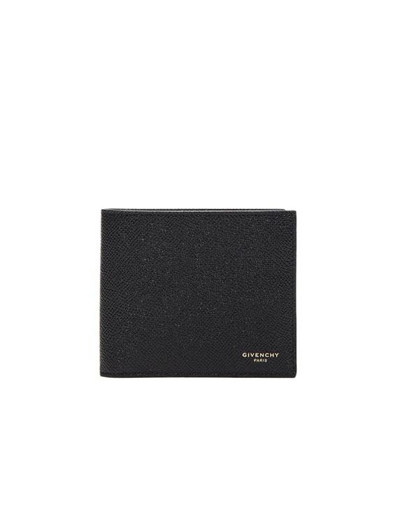 Leather Billfold Wallet in Black