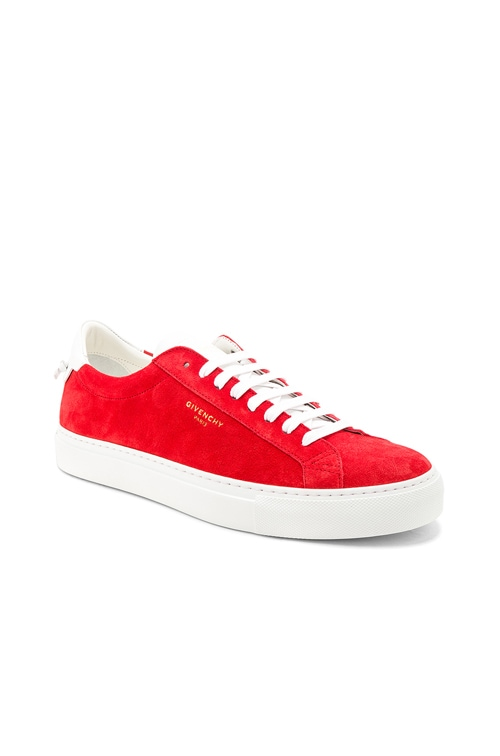 Givenchy Suede Urban Street Low Top