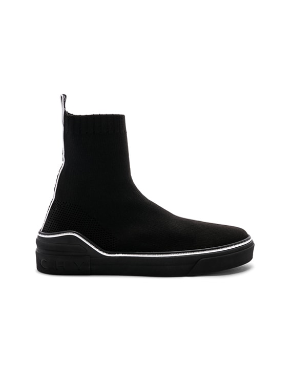 Givenchy George V Mid Sock Sneakers in