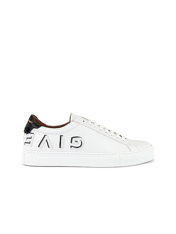 Urban Street Sneaker in White & Black