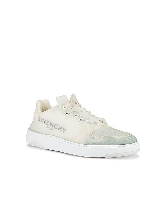 Wing Low Top Sneaker in White