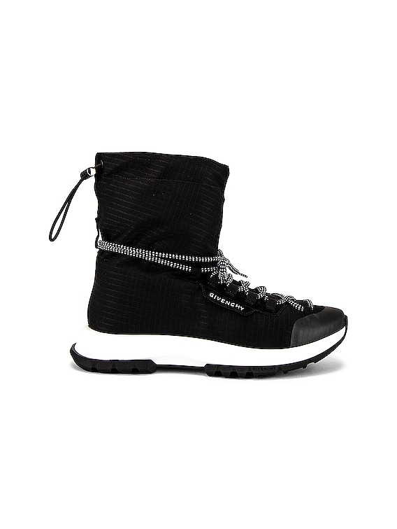 Spectre Hi Top Sneaker in Black