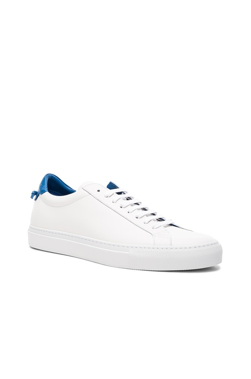 Givenchy Leather Urban Low Top Sneakers