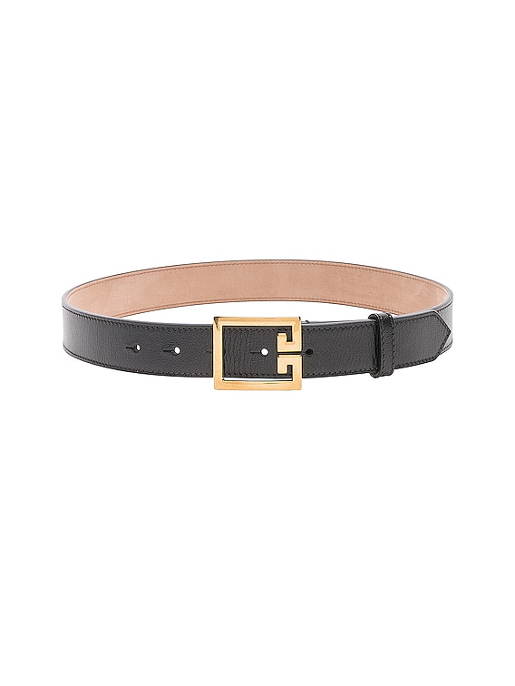 Logo Belt in Black