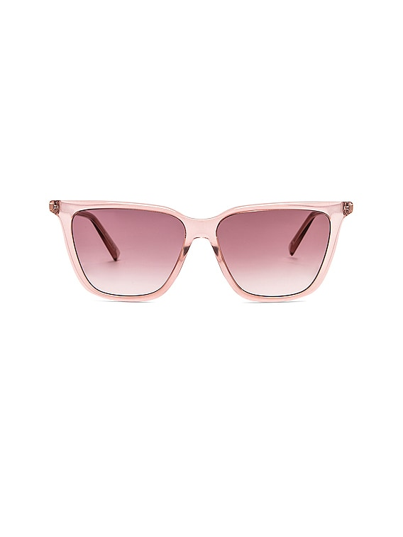 Acetate Sunglasses in Pink
