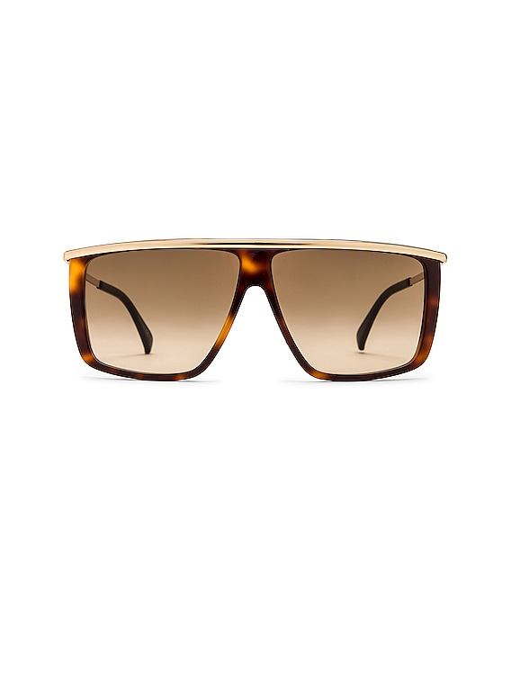 GV Light Sunglasses in Havana Gold & Brown Gradient