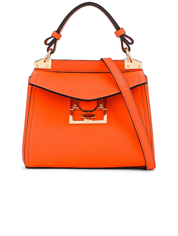 Mini Mystic Bag in Tangerine
