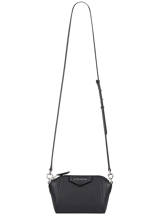 Nano Antigona Bag in Black