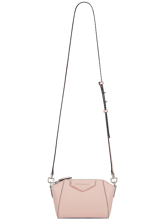 Nano Antigona Bag in Candy Pink