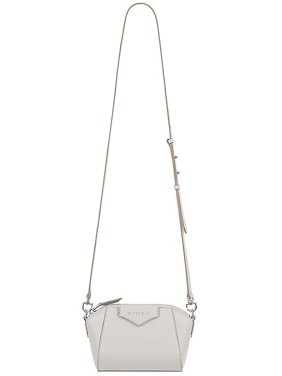 Nano Antigona Bag in White