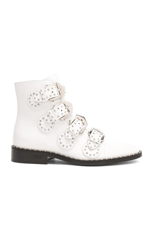 Givenchy Leather Elegant Studded Ankle