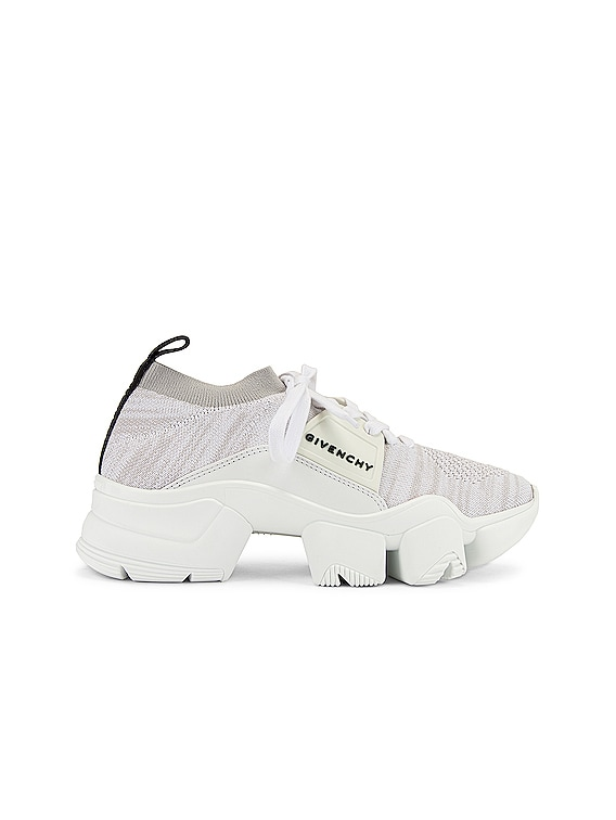 Jaw Low Sock Sneakers in White