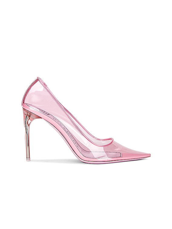 Couture Stiletto Pumps in Light Pink