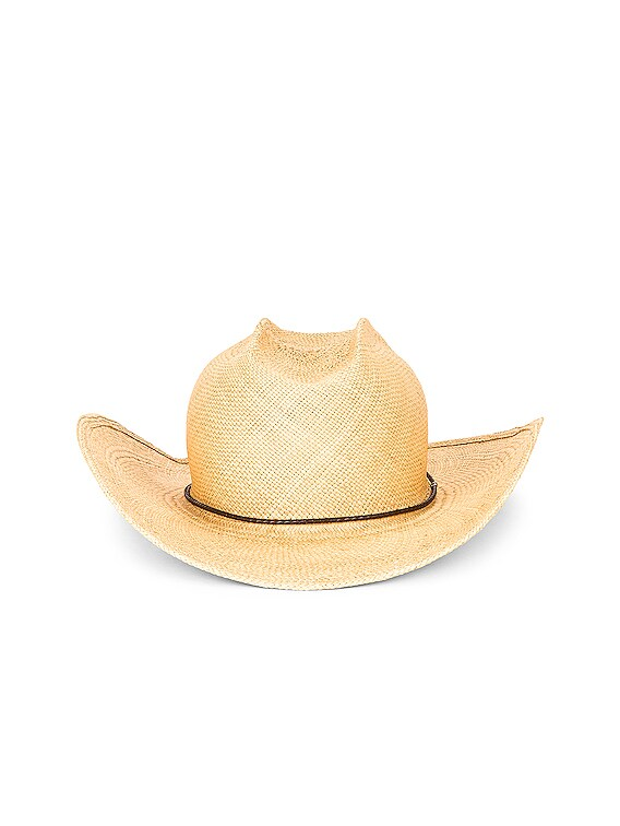 Levi Straw Hat in Ivory