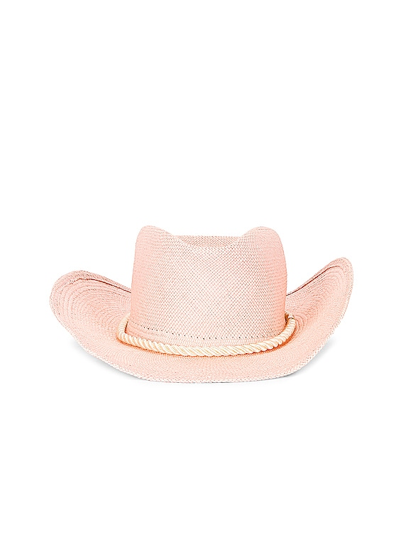 Zuma Cowboy Hat in Dusty Pink