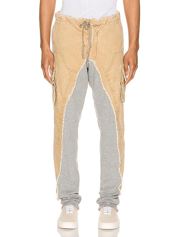 Slim Pants in Canvas & Grey