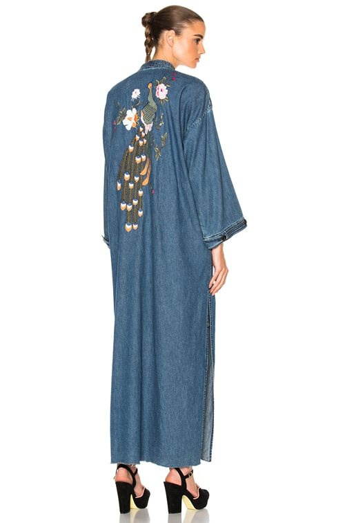 store delicate colors wholesale online for FWRD Samantha Long Robe