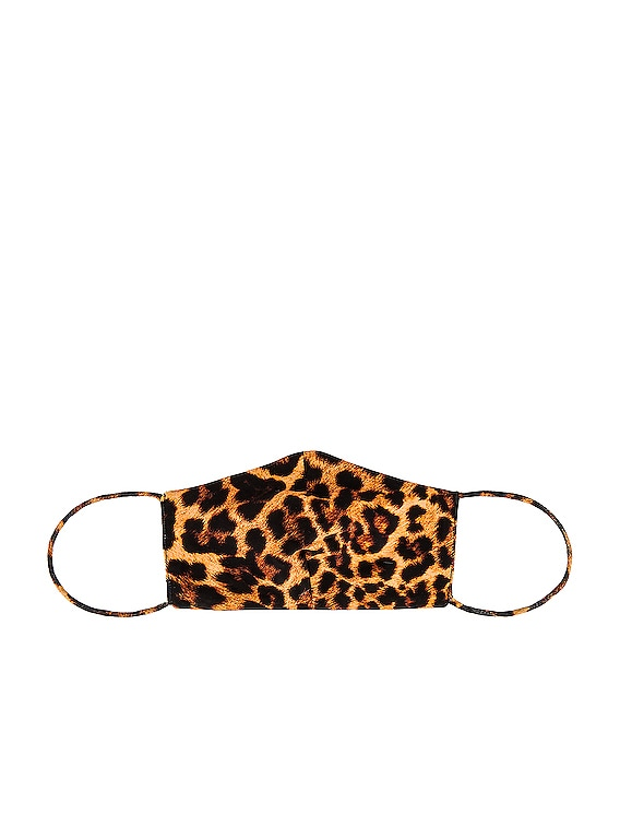 Protective Face Masks in Leopard