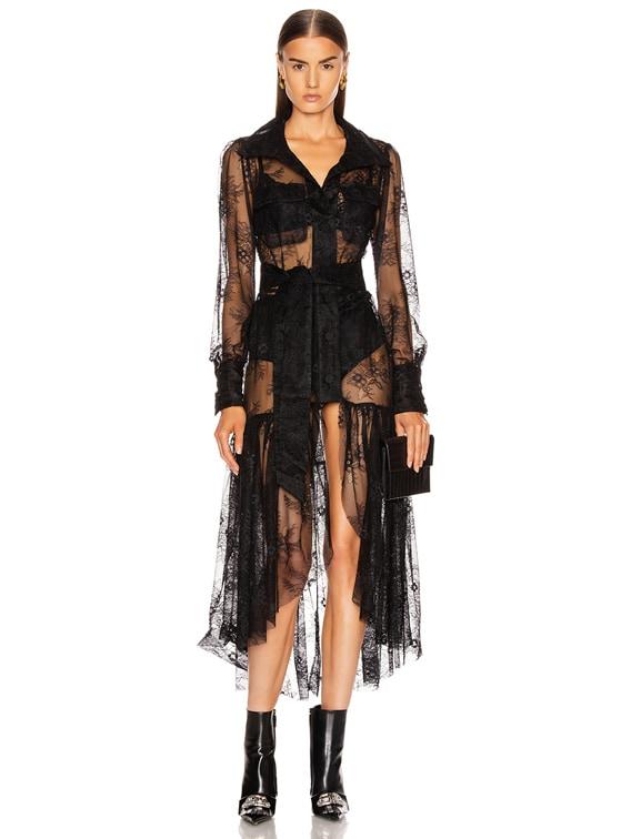 Dakota Midi Dress in Black