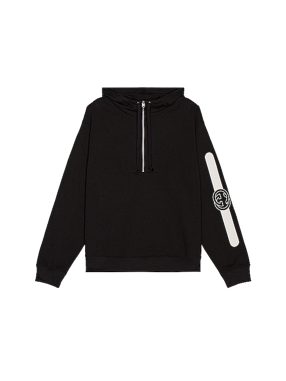 Pullover Hoodie in Medley & White