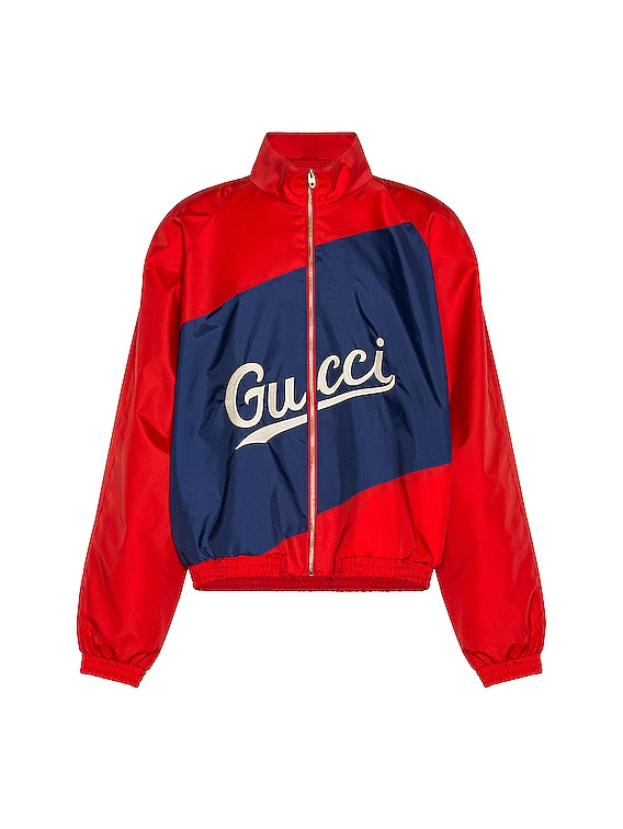 Track Jacket in Flame & Mix