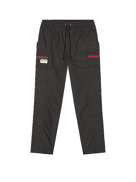 Track Pants in Black & Mix