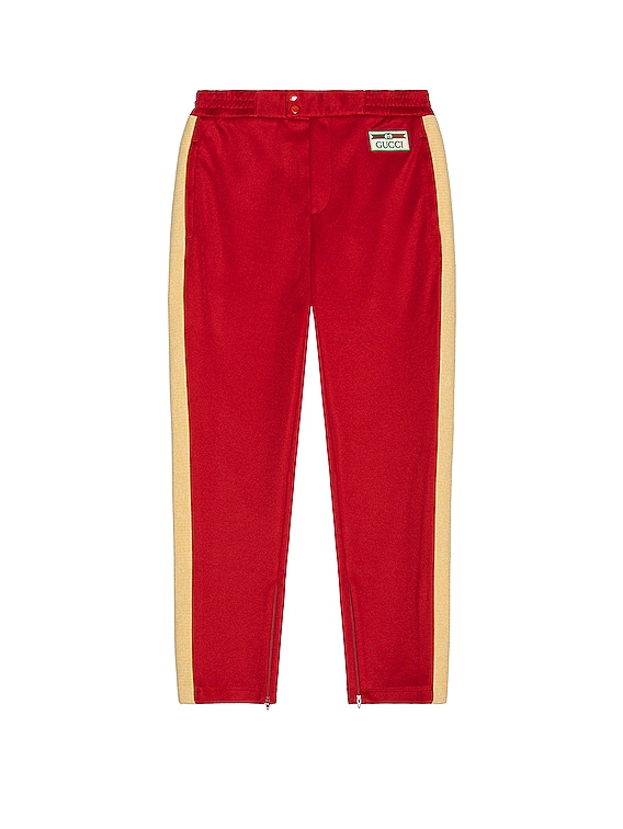 Sweatpants in Live Red & Multicolor