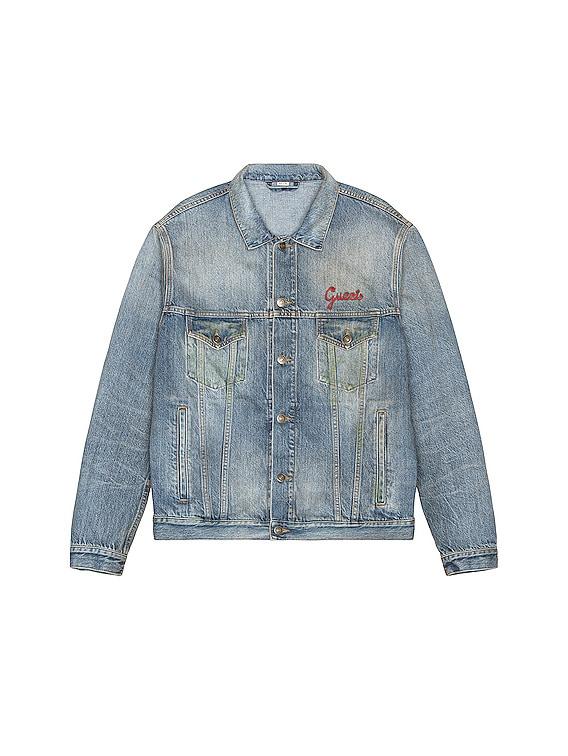 Denim Shirt in Light Blue & Mix