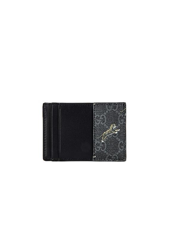 Wallet in Black & Multi