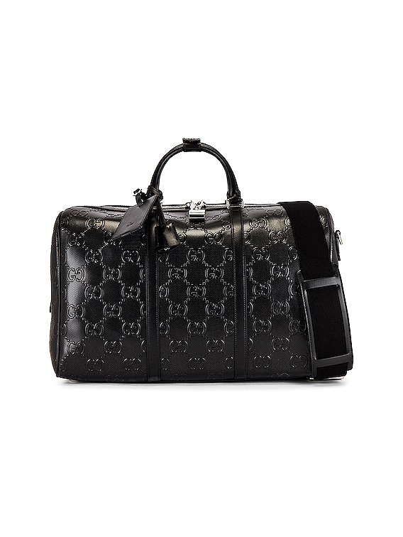 GG Tennis Duffel Bag in Black