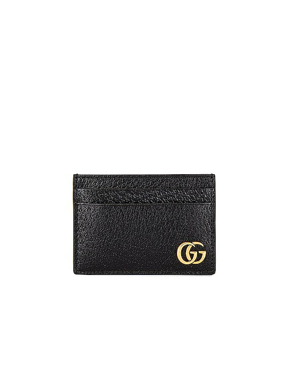 Dollar Pigprint Cardholder in Black