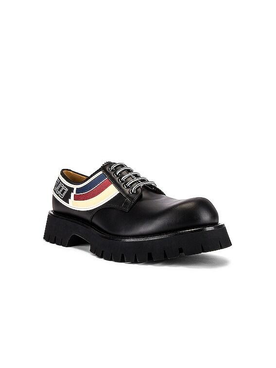 Oliver Shoe in Black & Ivoire