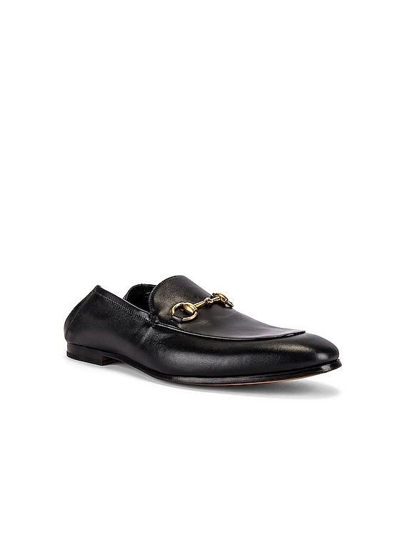 Horsebit Leather Loafer in Nero