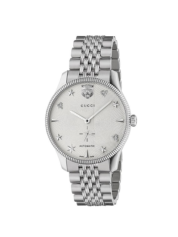 G-Timeless Watch in Silver