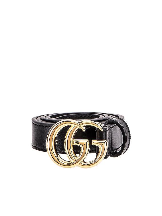 GG Marmont Belt in Black